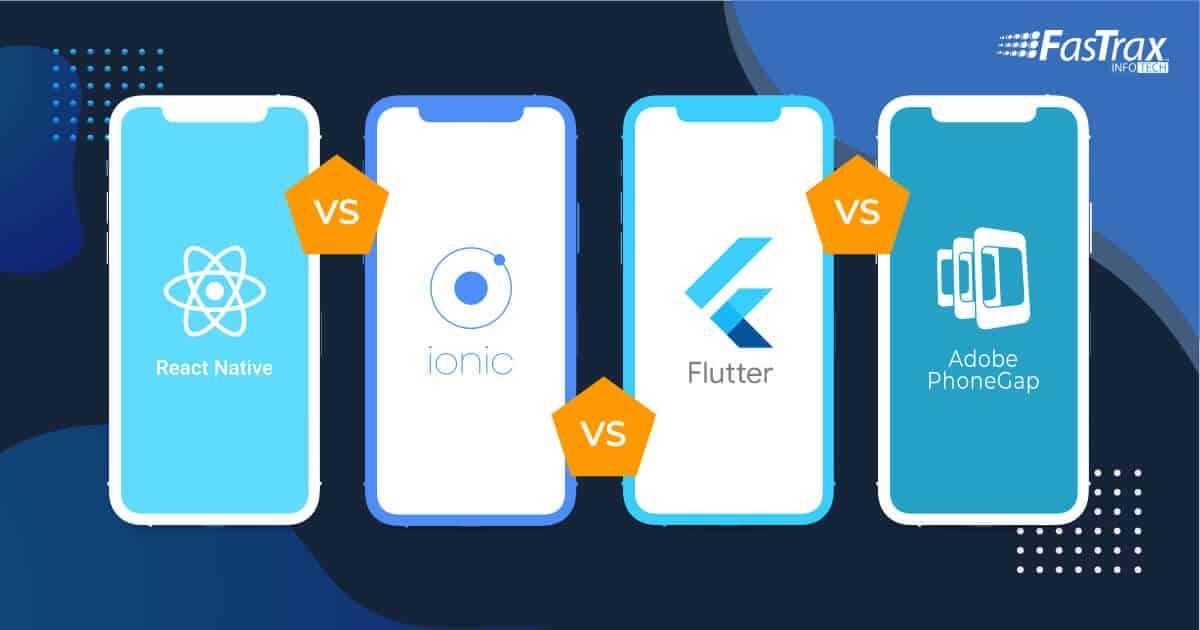 React Nativ vs. Ionic vs. Flutter vs. PhoneGap