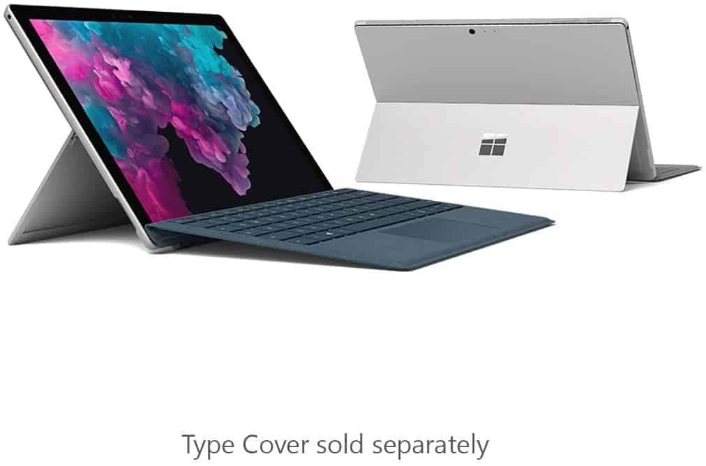 Microsoft Surface Pro 6 (Intel Core i7, 8GB RAM, 256GB)