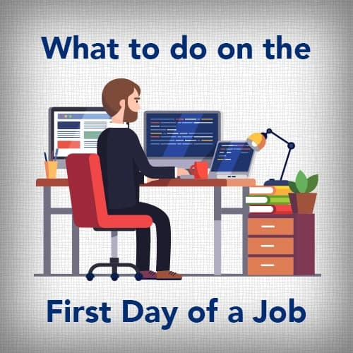 1st Day of Job
