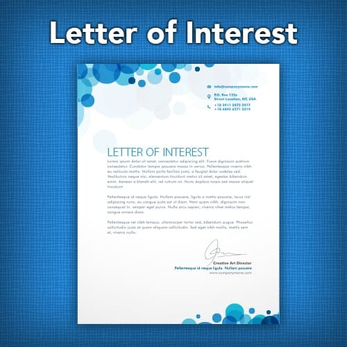 How a Letter of Interest Can Land You a Job