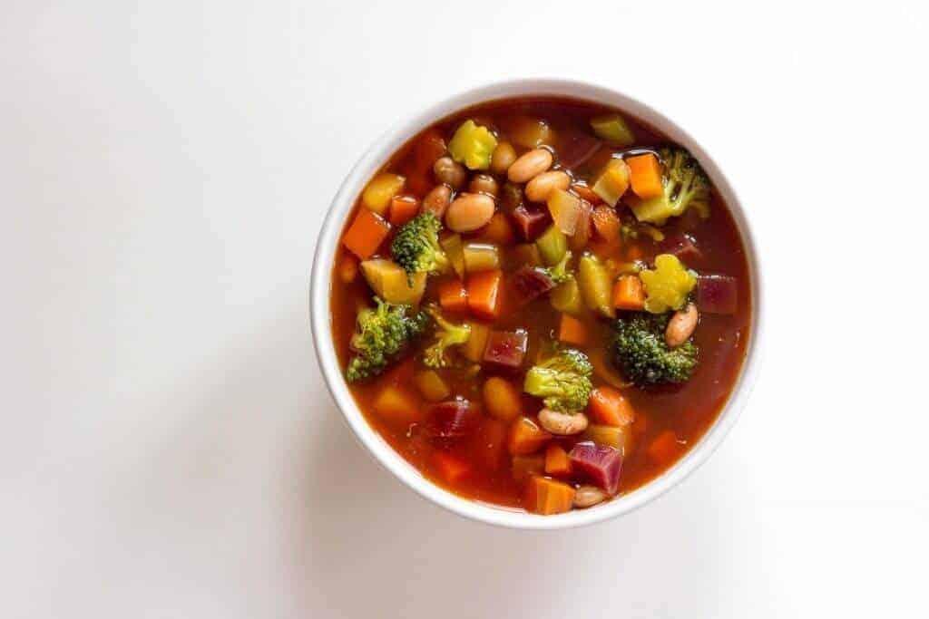 Kuru Fasulye-Pancar Brokoli Çorbası