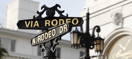 rodeo drive beverly hills photos