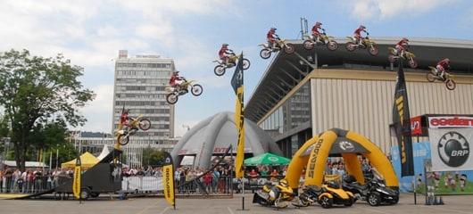 stunt show ales rozman - fotografije