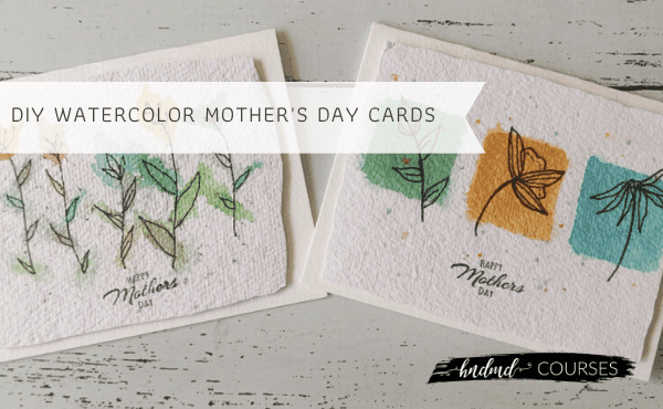 DIY Watercolour Cards