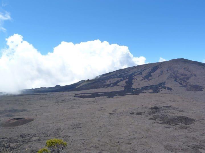 Le décor incroyable du volcan