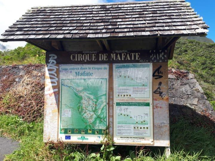 Pancarte de Mafate
