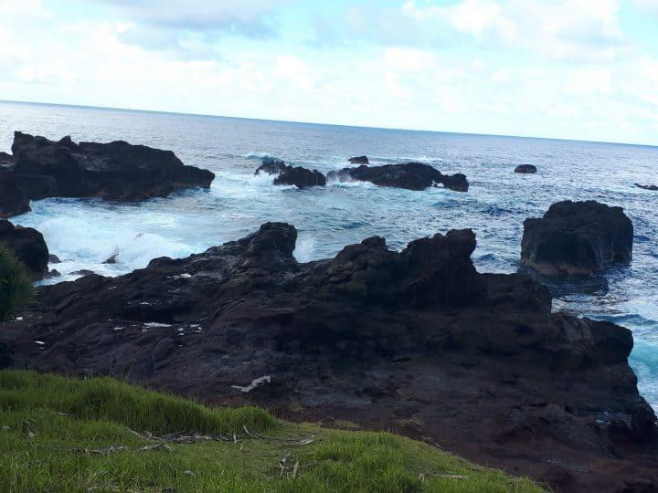 La mer à la Réunion peut changer très vite avec les cyclones