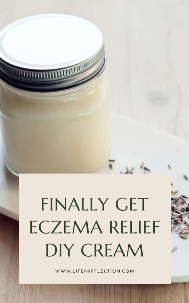 If you're looking for eczema relief you found it! This is the ultimate DIY whipped butter you can make at home!