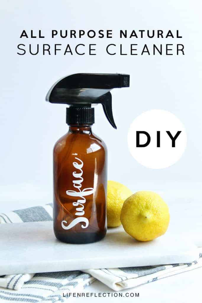 How to Make a DIY All Purpose Natural Surface Cleaner
