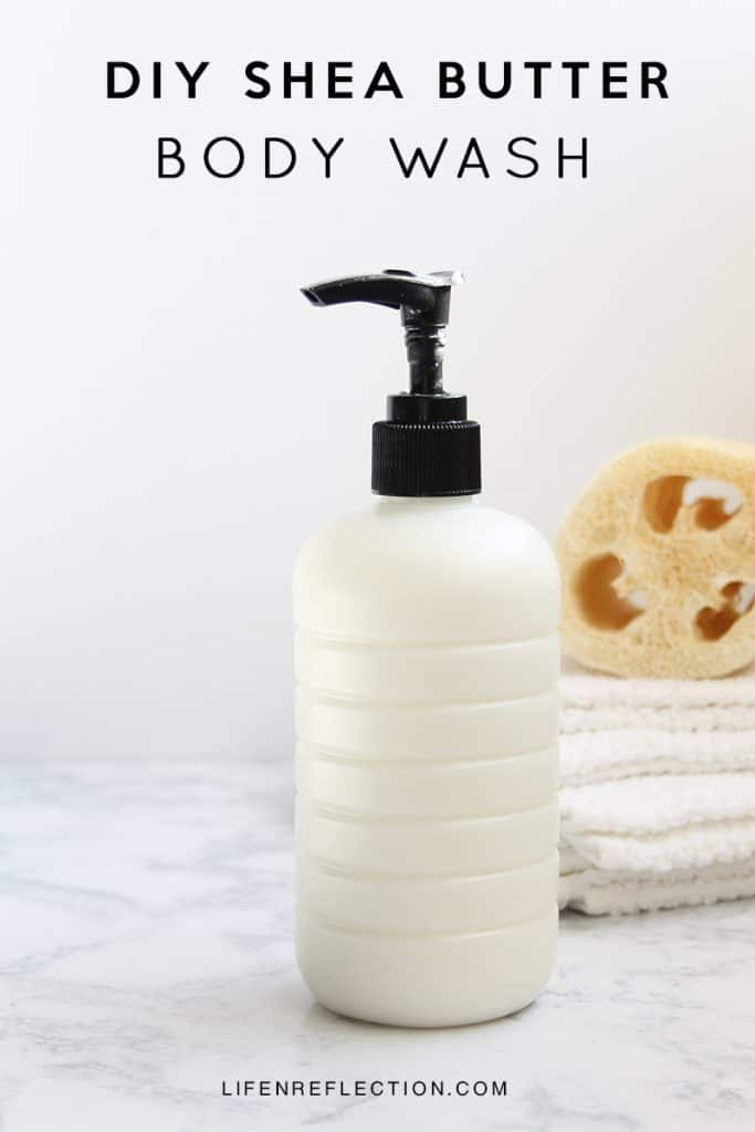 Body Wash doesn't need be just soap. We can load it up with skin loving ingredients and our favorite scents. Learn how I make my own summer rain creamy body wash.