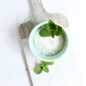 How make Citrus Mint Homemade Bath Salts