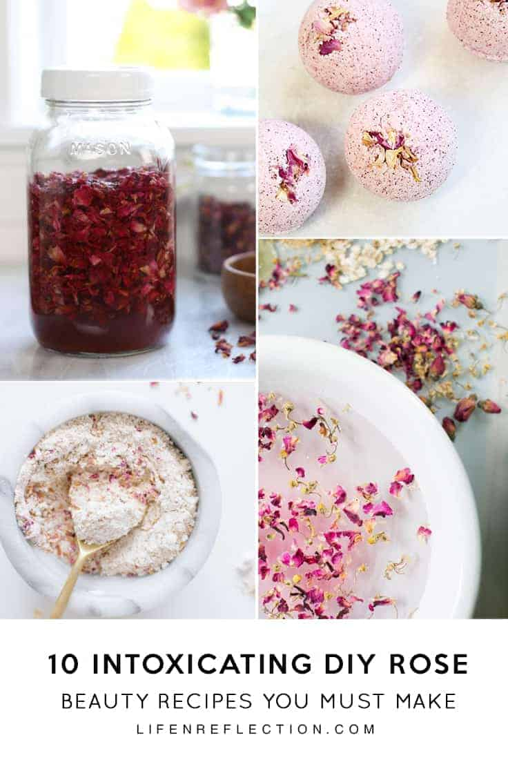 10 Intoxicating Rose DIY Beauty Recipes to support the appearance of youthful-looking skin