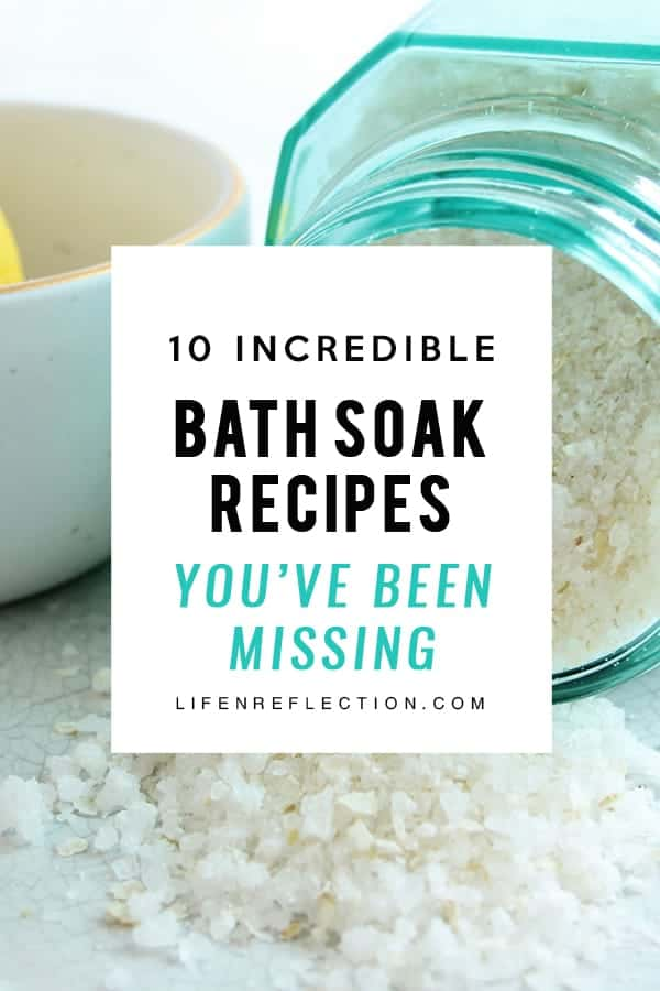 10 incredible bath soak recipes you don't want to miss!