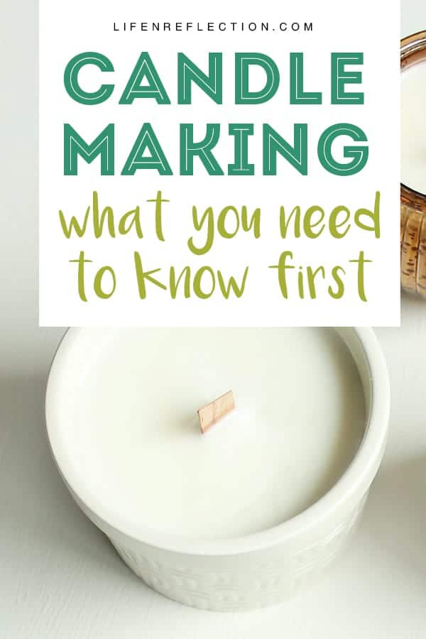 Your Guide to Natural Soy Candle Making, like how to scent candles and how much wax to use...