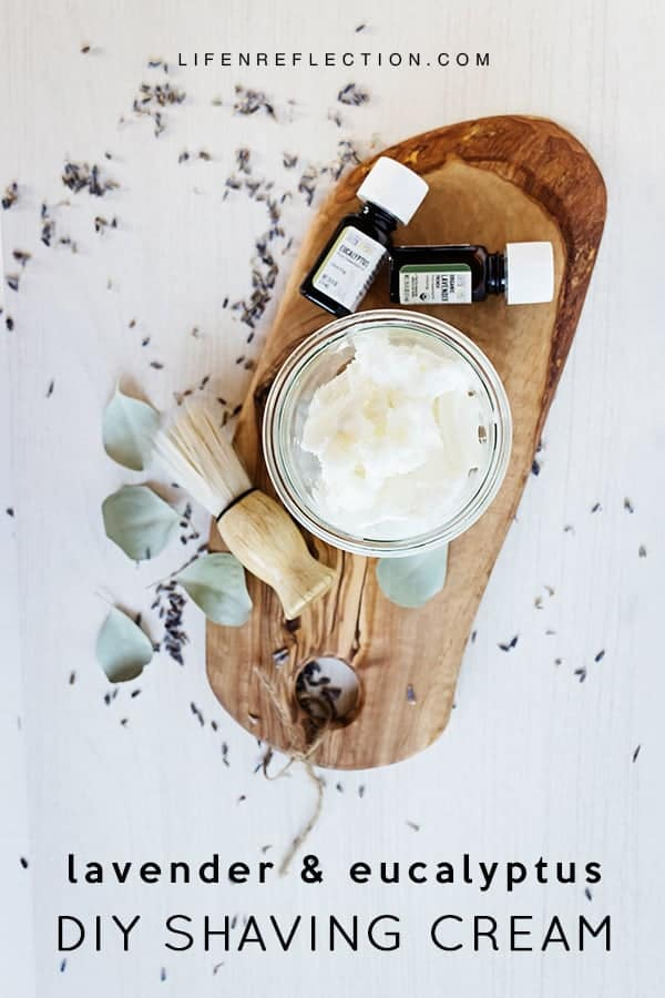 Blissful DIY Shaving Cream Made Naturally with Shea Butter, Coconut Oil, and Essential Oils