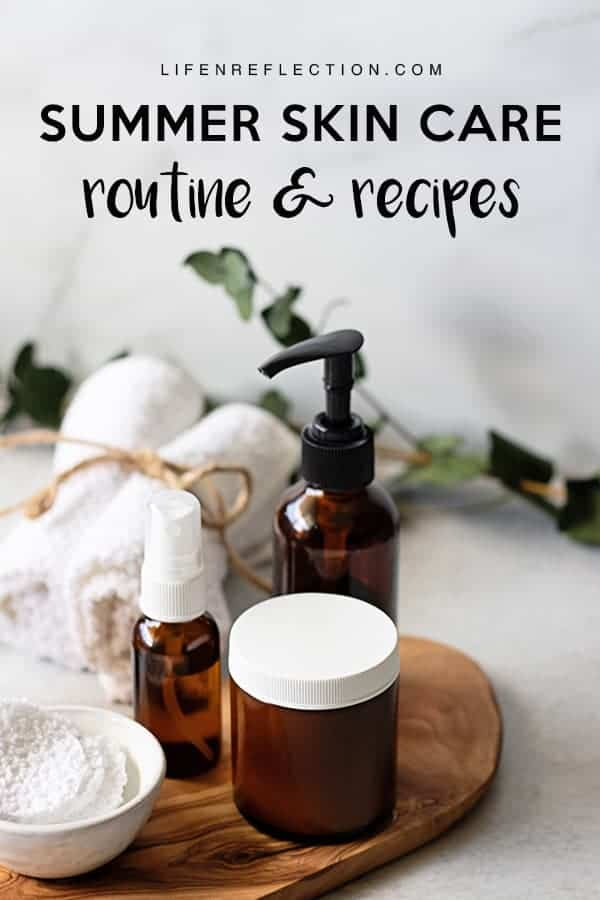 """Summer can bring with it a whole kit and kaboodle of skin problems ranging from ashy ankles to hairline blemishes.  Which leads us to wonder, """"How can I get clear skin in summer?"""" Use our summer skin care routine to keep your skin clear and clean in the warmest months of the year."""