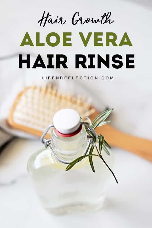 Why Use A Hair Rinse? Depending on the ingredients of a hair rinse it can do a number of things to maintain healthy hair including boosting hair growth!