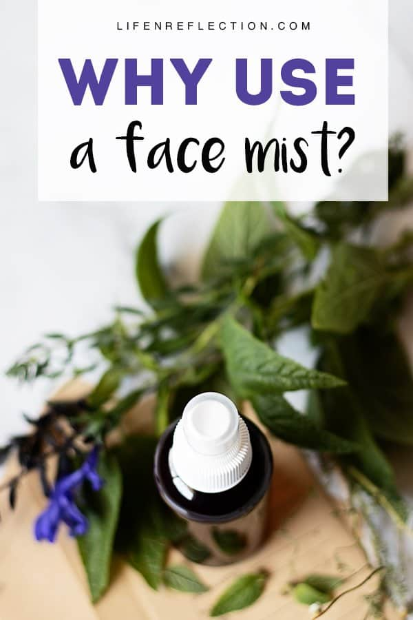 Why use a face mist? Because this little beauty DIY can work double-time for your skin addressing several needs at once, like a stellar personal assistant.
