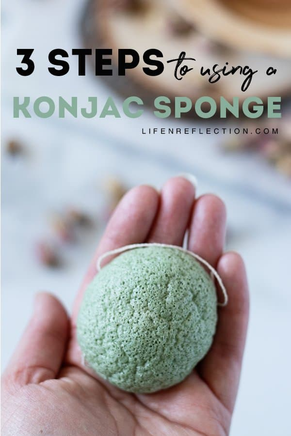 How can one Korean beauty tool improve so many skin types? It has everything to do with the ingredients of this biodegradable zero waste Konjac sponge! Here's 3 steps to using one.