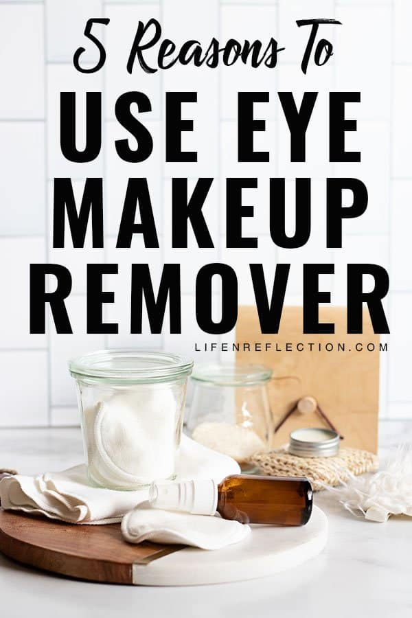 If you're fed up with store-bought makeup removers and irritated skin, here's five reasons to try one of these DIY eye makeup remover pads! Not only do they work well, but they are also more affordable and better for your skin and our planet.