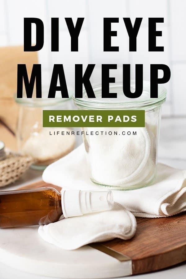 I think we all can agree we'd like to save more money. So, if you're tired of buying expensive eye makeup remover make one instead! You can make these DIY eye makeup remover pads with less than five ingredients to cleanse, moisturize, and strengthen eyelashes.