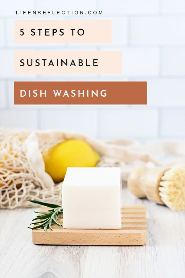 If you have ever washed dishes like this, let me tell you there is a much better way! Here's how I'm teaching my daughter to wash dishes more effectively and sustainably.