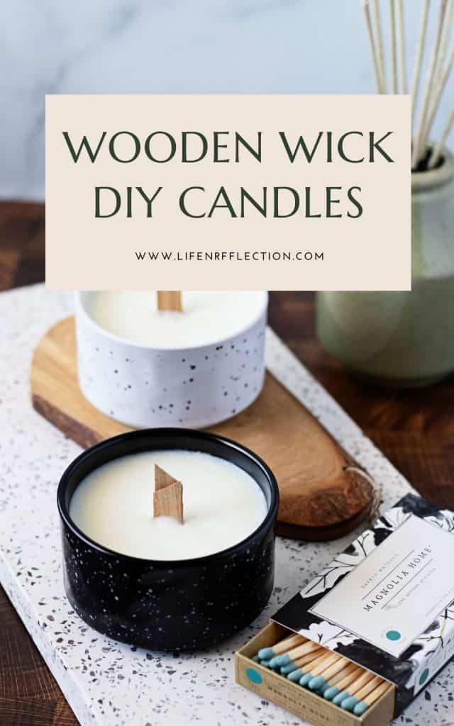 Are you ready to start making DIY wood wick candles, but have never used a wooden wick candle? I'm here to help!