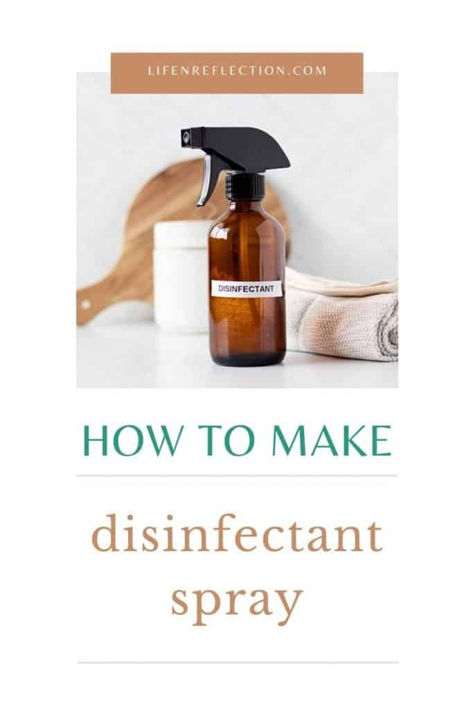 Clean, sanitize, and freshen your home all at the same time with this DIY disinfectant spray.