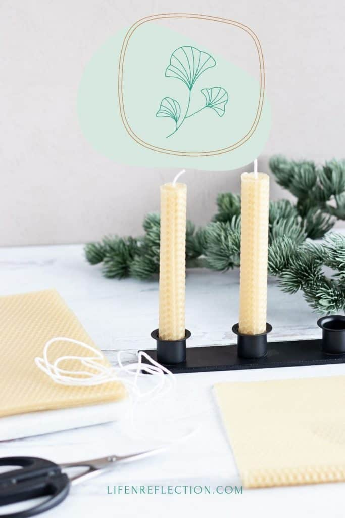 Rolled beeswax candles are the no-fuss way to make candles. No boiling water, no difficult measurements, no pouring hot wax, or no dipping into hot wax either.