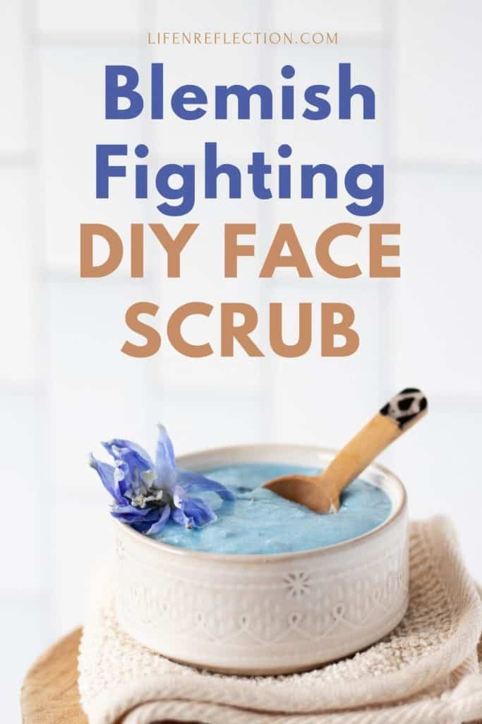 How to make a blemish-fighting DIY face scrub for acne and clogged pores!