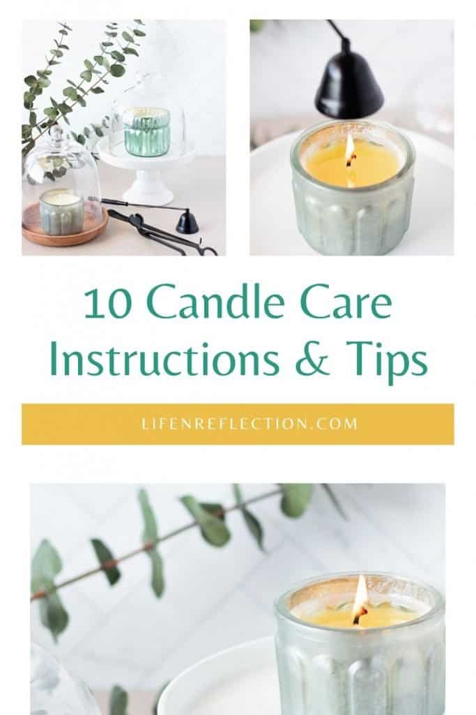 CANDLE CARE 101: Candle Care Instructions and 10 Tips to Savor Candles to the Last Light