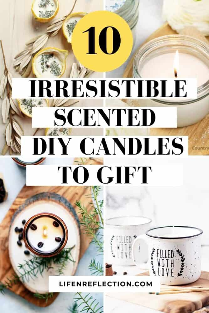 With just a handful of candle supplies, you can craft homemade candle gifts for the holidays, weddings, or birthdays - because you'll never lack creativity when it comes to DIY scented candles!