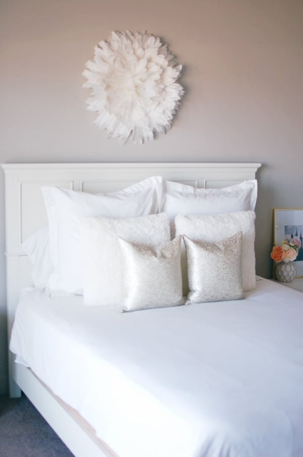 Juju hat master bedroom decor.