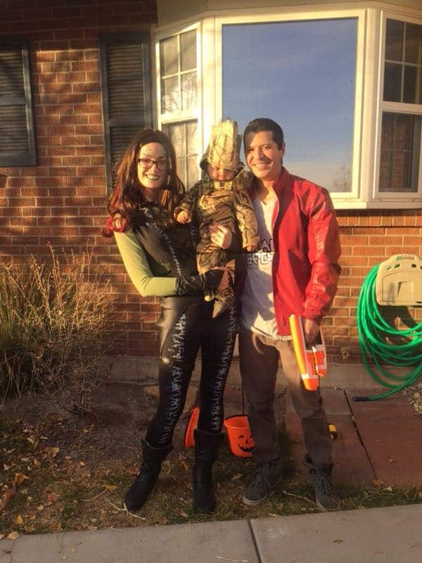 Guardians of the Galaxy DIY family Halloween costumes