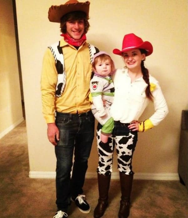 Toy Story DIY family Halloween costumes