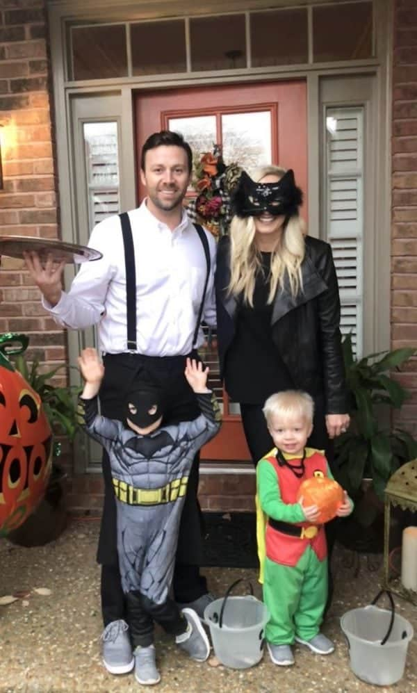 Batman family outfits for Halloween