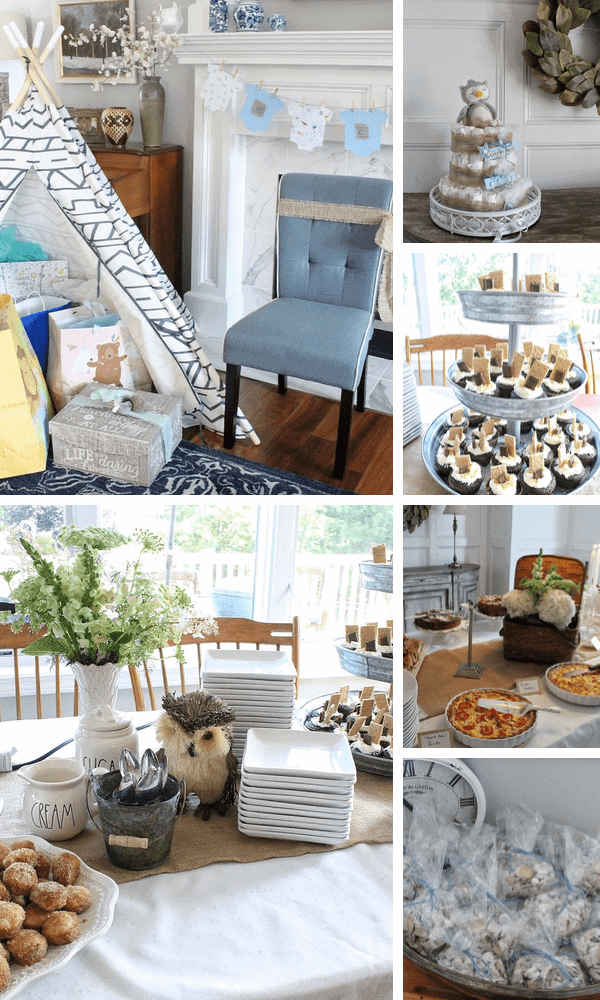 Adventure Themed Baby Shower Ideas
