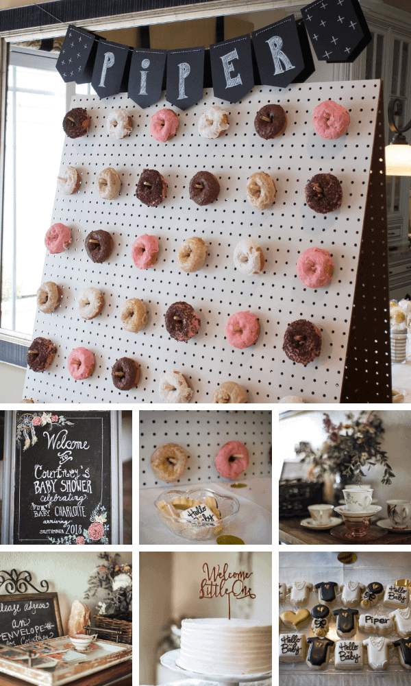 Donut Themed Baby Shower Ideas.