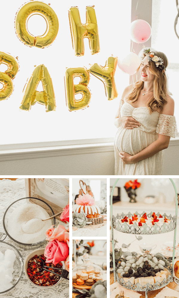Bohemian Baby Shower Ideas for new moms.