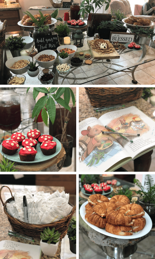 Woodland Boy Baby Shower Ideas for new moms.