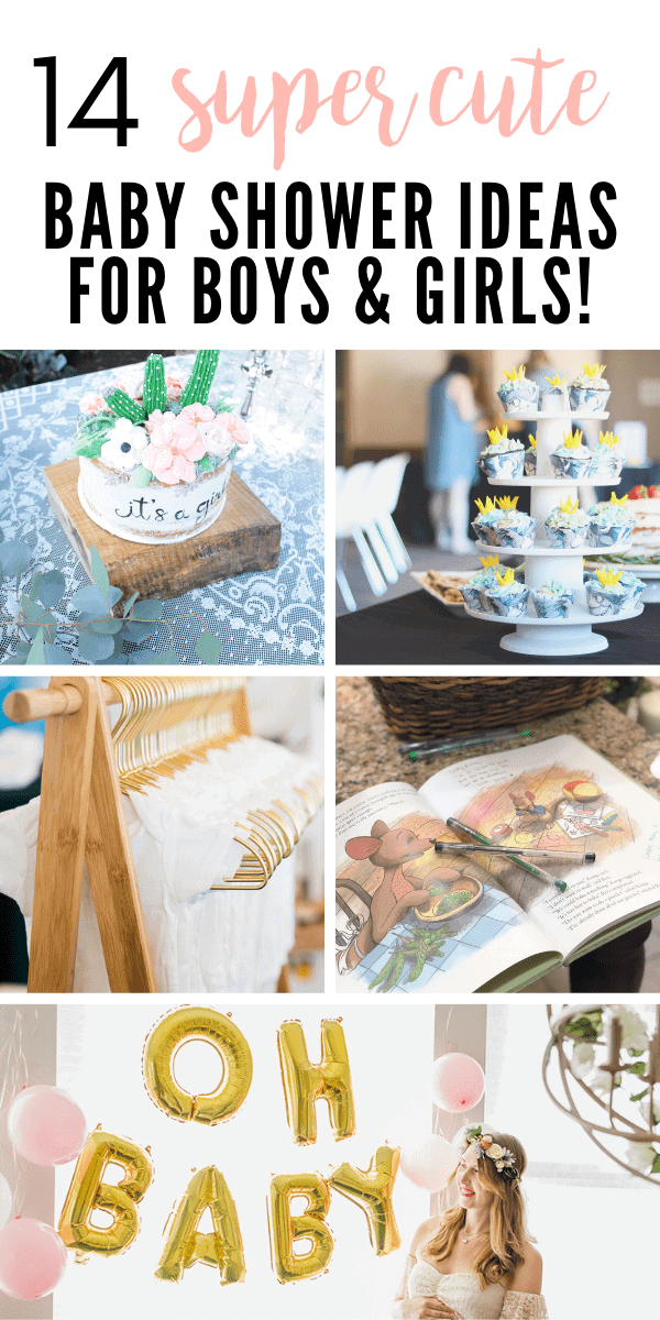 You'll love these 16, super cute baby shower ideas and themes for your next party!