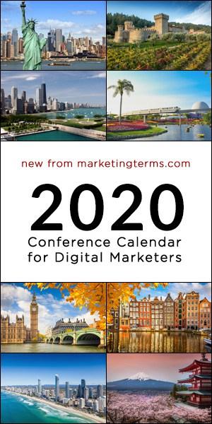 Digital Marketing Conference Calendar