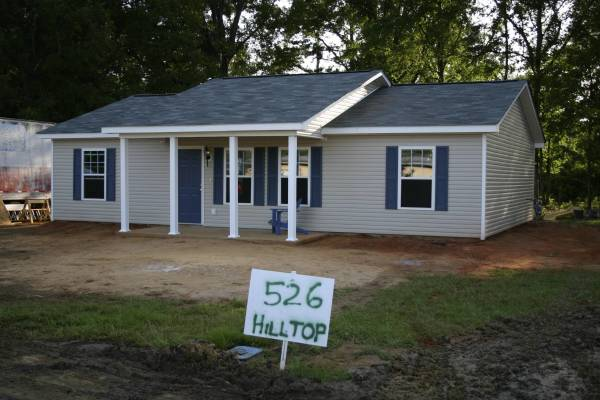 Finished Franklinton Home