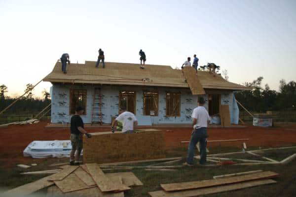 Roof work, the most coveted jobs