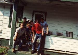 Appalachian service project crew