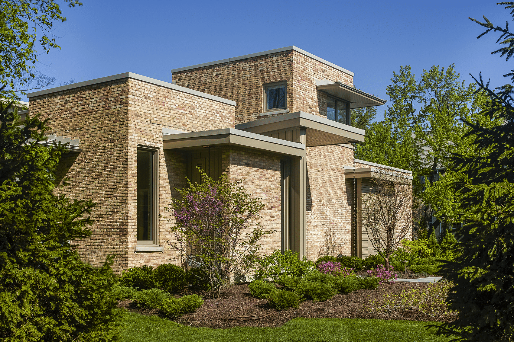 front entry from south