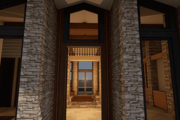 entry rendering
