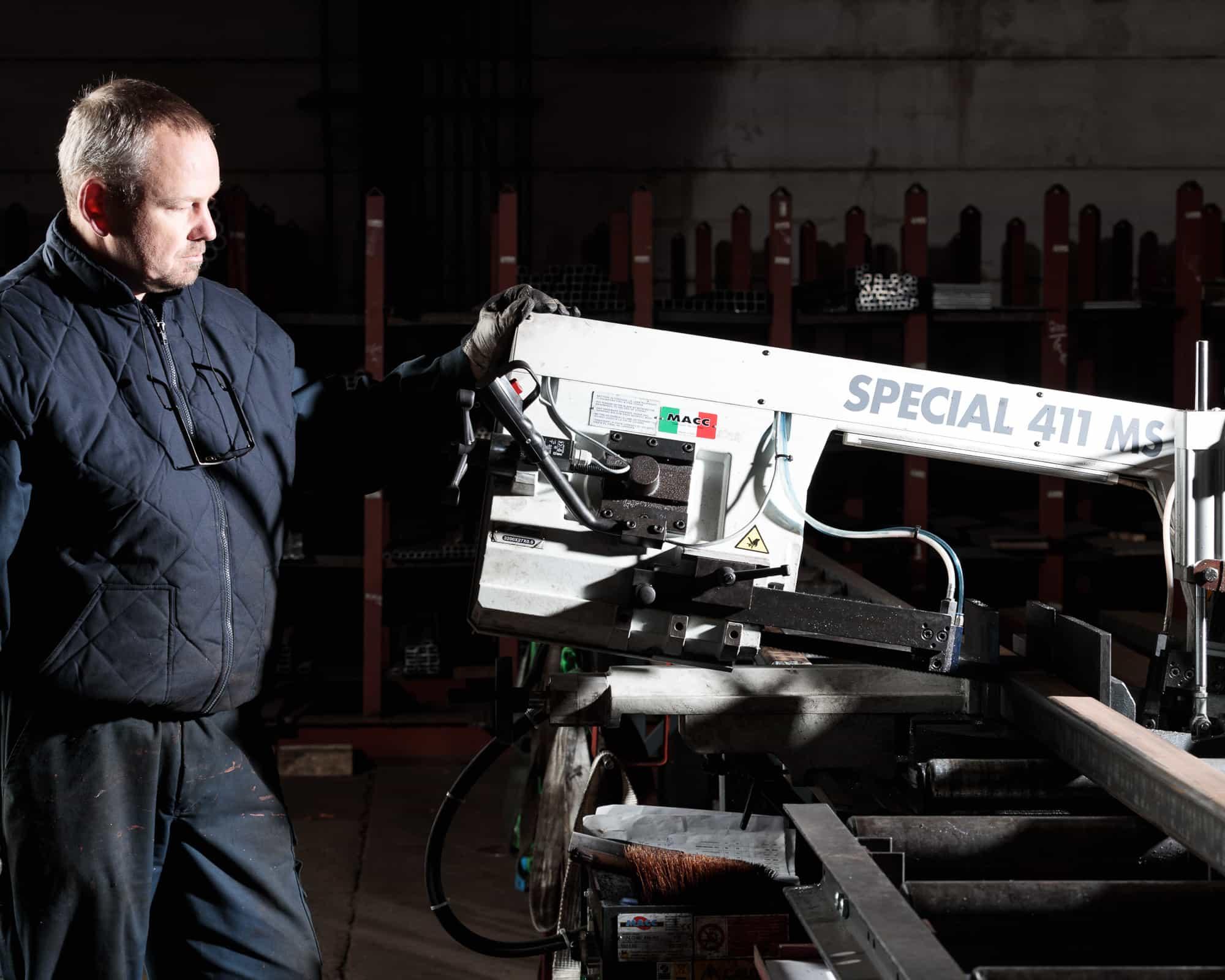 Metal Gent investeert in nieuwe zaagmachine