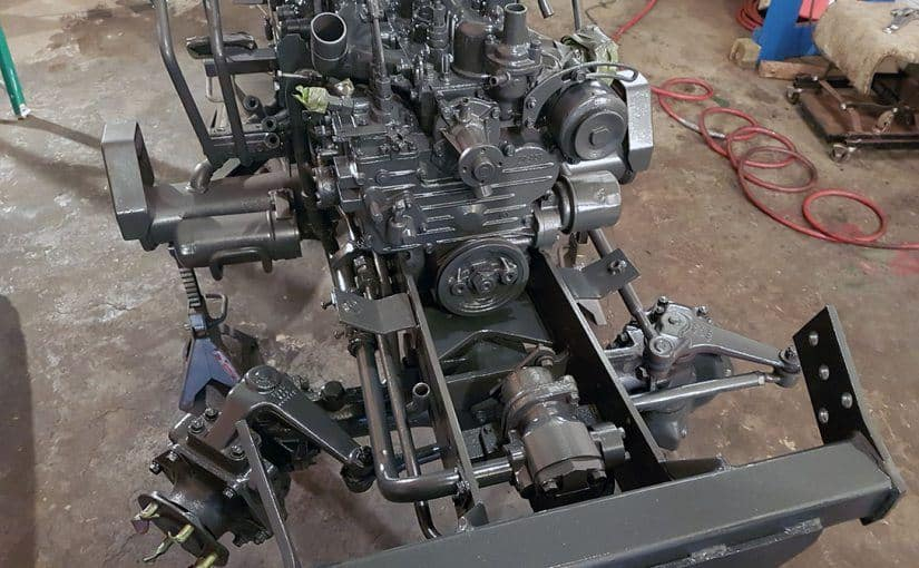 Restoring a Kubota B20 Tractor – Part 6