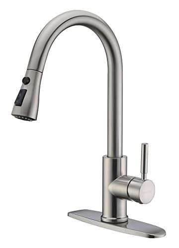 WEWE Faucet Single Handle Kitchen Sink Faucet